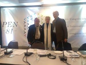Quebec, September 2015 - PEN 81st Congress 2015